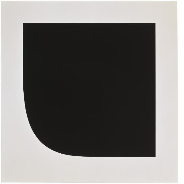 Ellsworth Kelly, Black Variation 6, 1975