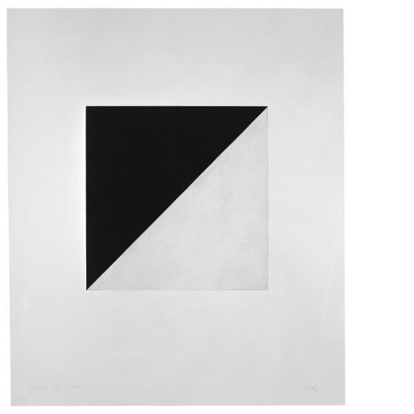 Ellsworth Kelly, Diagonal with Black (State), 1982
