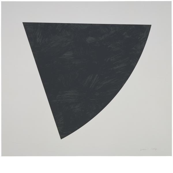 Ellsworth Kelly, Untitled (Gray), 1988