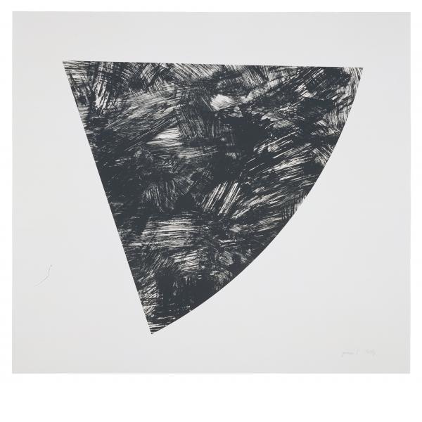 Ellsworth Kelly, Untitled (Gray State I), 1988