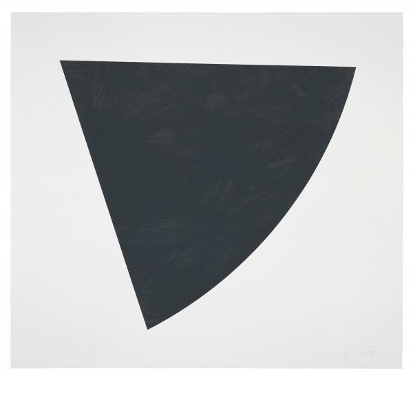 Ellsworth Kelly, Untitled (Gray State II), 1988