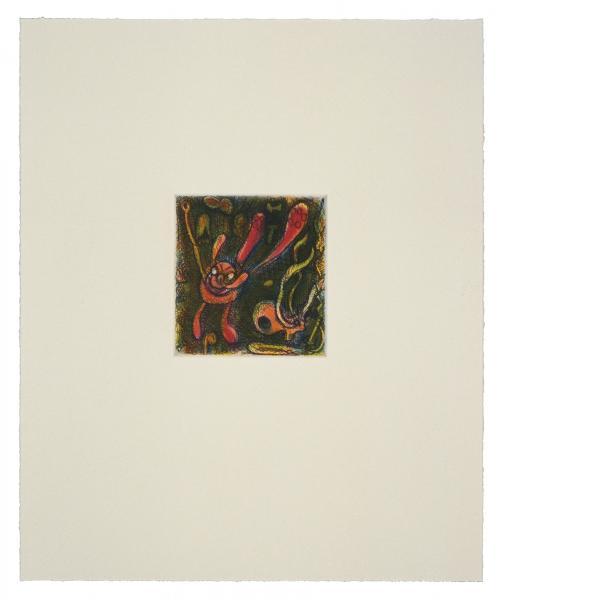 Elizabeth Murray, LuLu Leaps, 1995