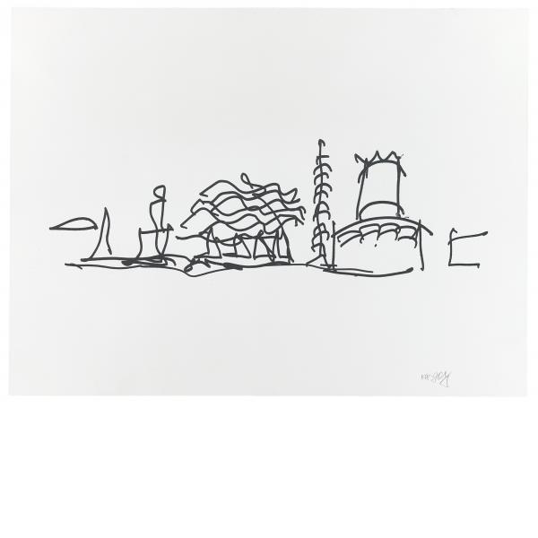 Frank Gehry, Study 4, 2009