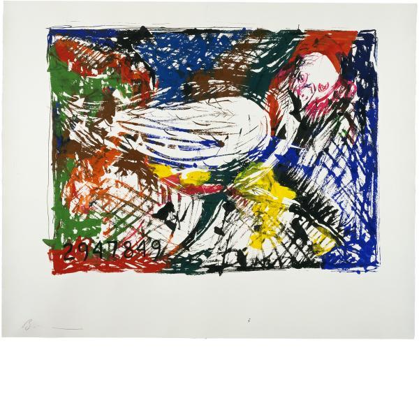 Jonathan Borofsky, Berlin Dream (Closeup) at No. 29478**, 1985