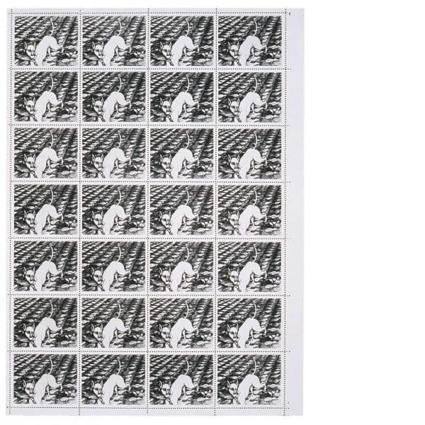 Jonathan Borofsky, Berlin Dream Stamp, 1986