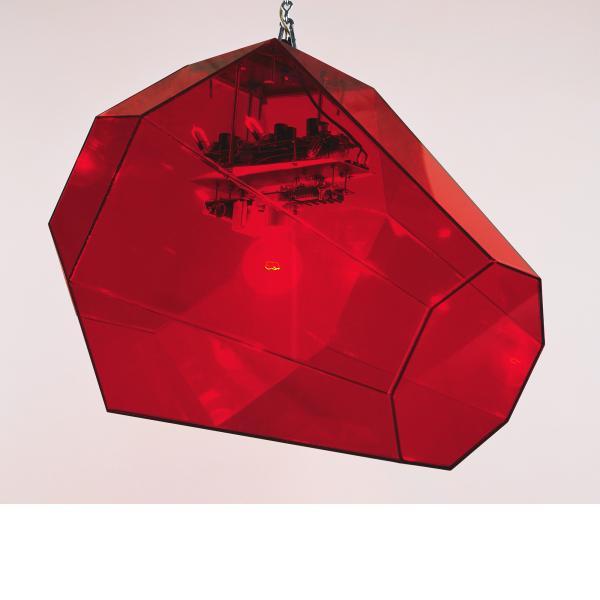 Jonathan Borofsky, I Dreamed I Found a Red Ruby, 1986