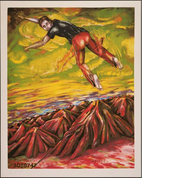 Jonathan Borofsky, I Dreamed I Could Fly at No. 3088747, 1989