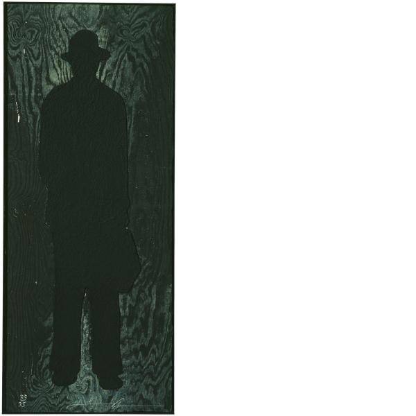 Jonathan Borofsky, Man with a Briefcase (A), 1991