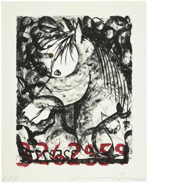 Jonathan Borofsky, White Horse, 1991