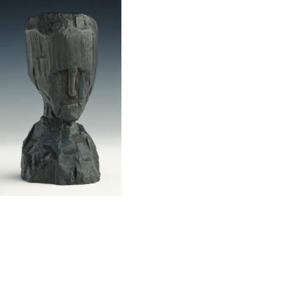 Jonathan Borofsky, Self-Portrait-Bronze Head, 1991