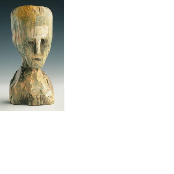 Jonathan Borofsky, Self-Portrait-Bronze Head (State), 1991
