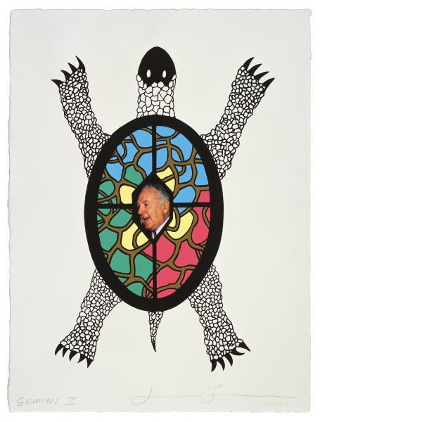 Jonathan Borofsky, Portrait of My Father, 1993
