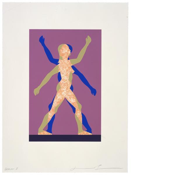 Jonathan Borofsky, Male / Female, 2000