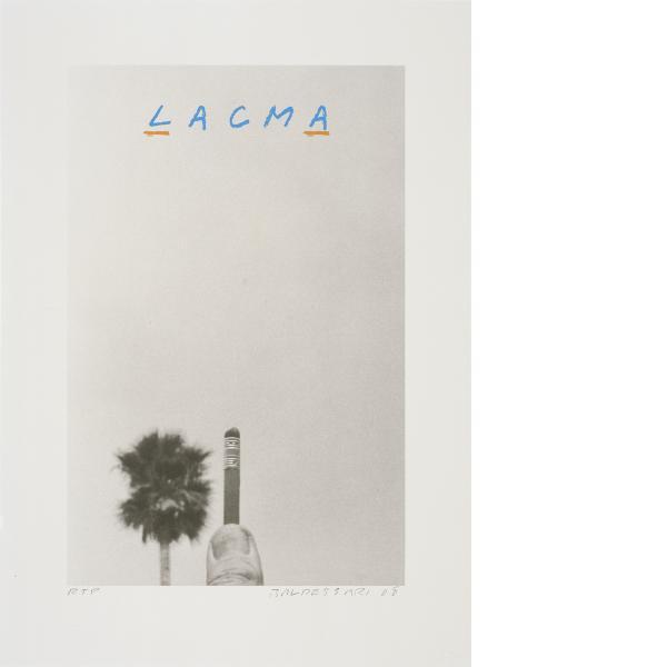 John Baldessari, For LACMA, 2008