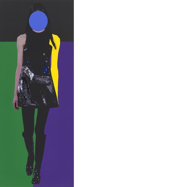 John Baldessari, Fall Line, 2015