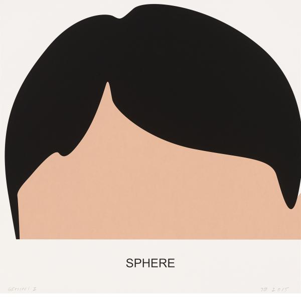 John Baldessari, Sphere, 2016
