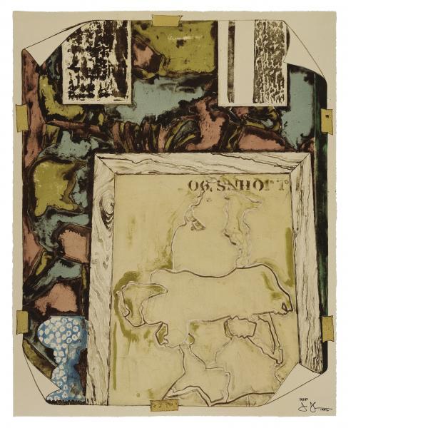 Jasper Johns, Untitled, 1992