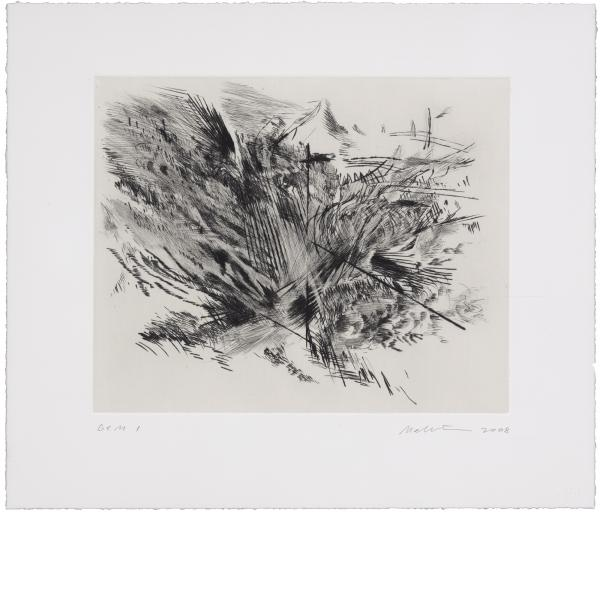Julie Mehretu, Untitled (Amulets), 2008
