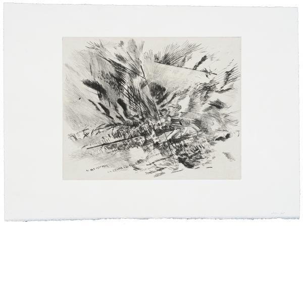 Julie Mehretu, Untitled (Grey Area), 2010