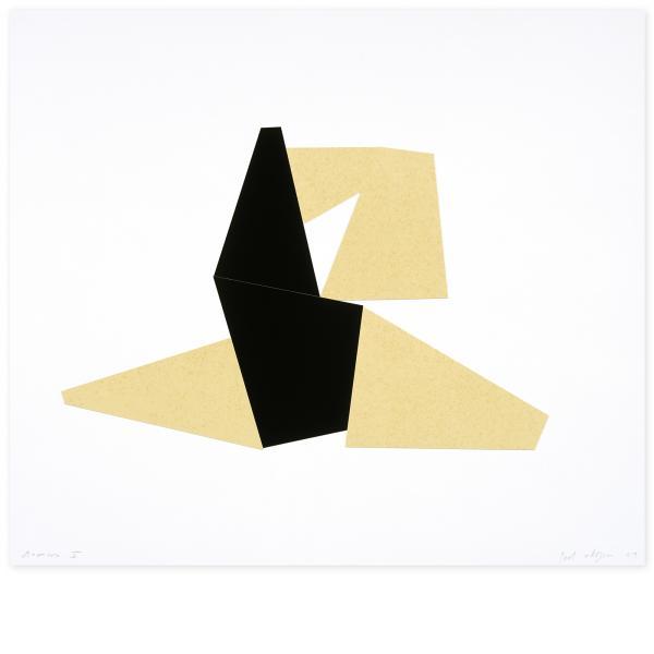 Joel Shapiro, Boat, Bird, Mother and Child (c), 2009
