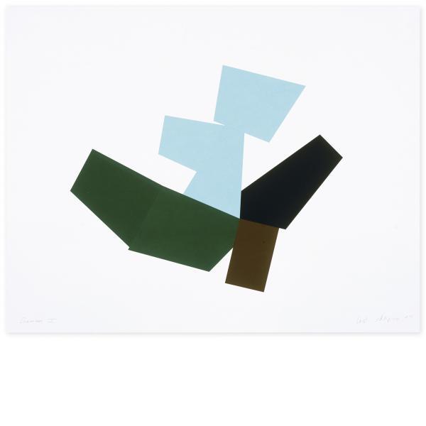 Joel Shapiro, Boat, Bird, Mother and Child (h), 2009