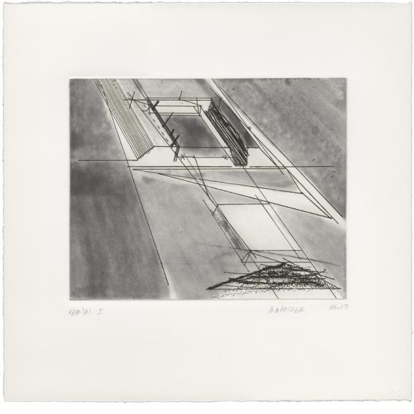 Michael Heizer, Vertical Cliff Displacement, 2013