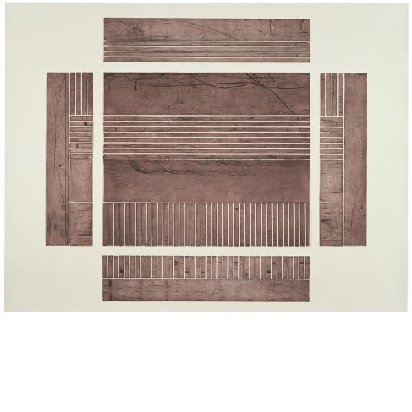 Michael Heizer, Platform #1, 1985