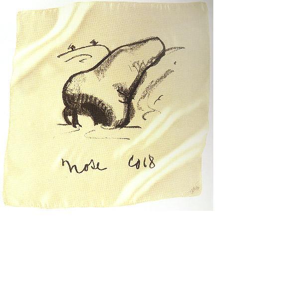 Claes Oldenburg, Nose Handkerchief, 1968