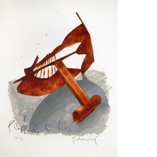 Claes Oldenburg, Picasso Cufflink, 1974