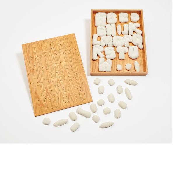Claes Oldenburg, Soft Alphabet, 1978