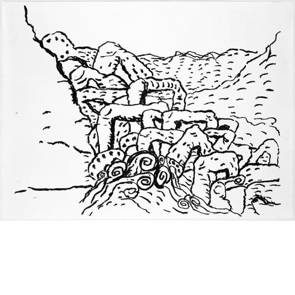 Philip Guston, Sea Group, 1983