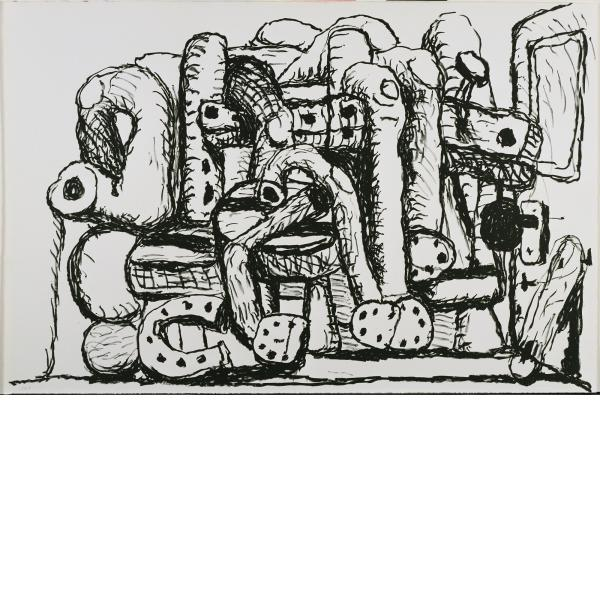 Philip Guston, Pile Up, 1983
