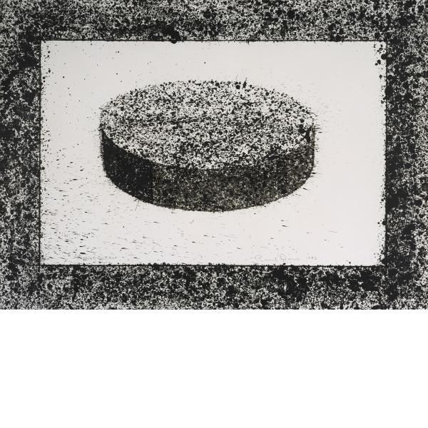 Ronald Davis, Black Disc, 1983