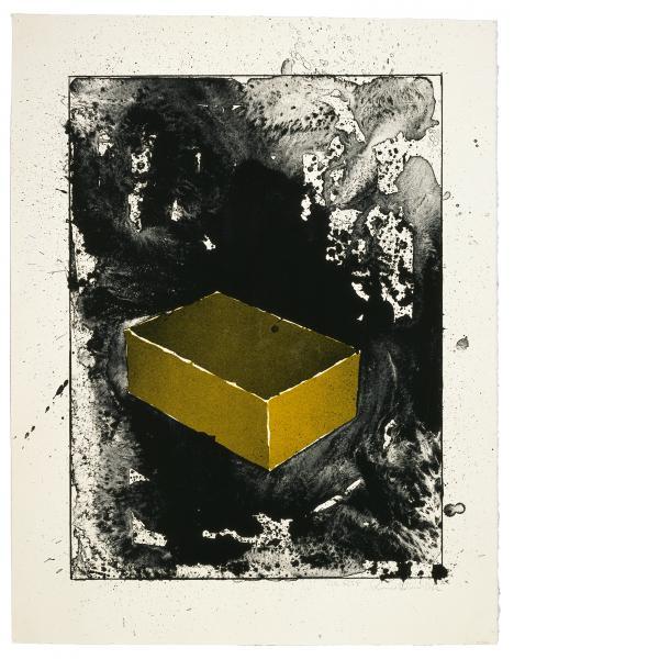 Ronald Davis, Yellow Brick, 1983