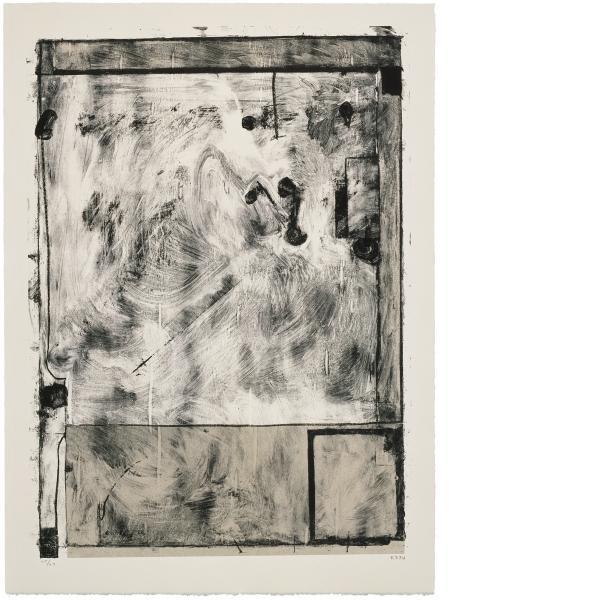 Richard Diebenkorn, Scrabbling, 1985