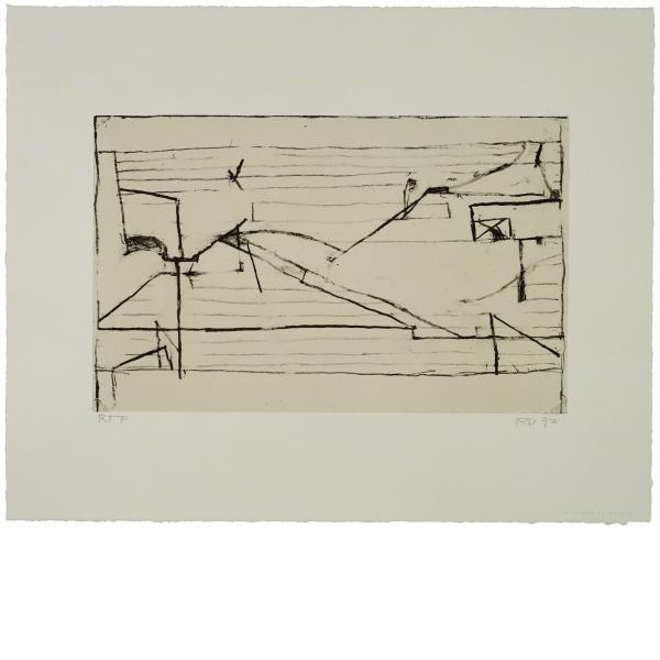 Richard Diebenkorn, Untitled #9, 1993