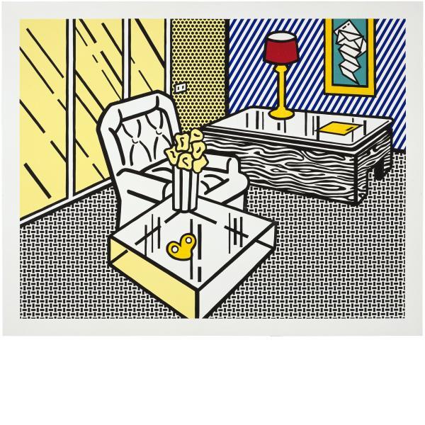 Roy Lichtenstein, The Den, 1991