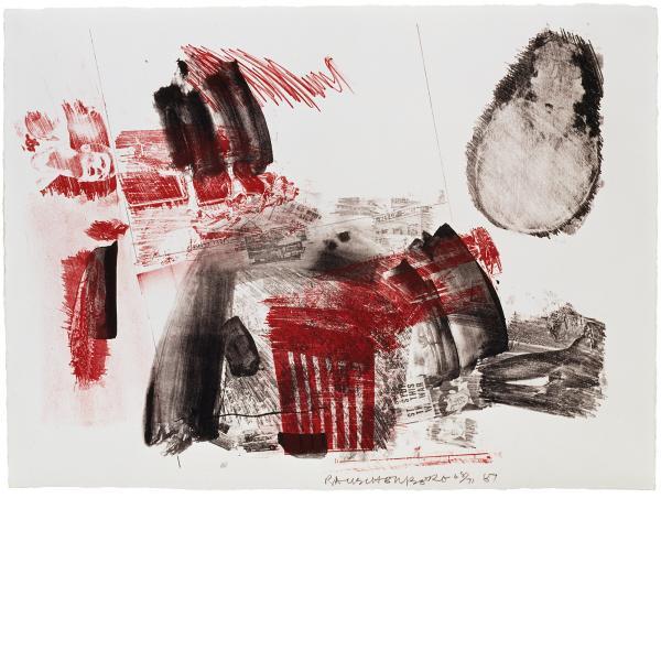 Robert Rauschenberg, Test Stone #3, 1967