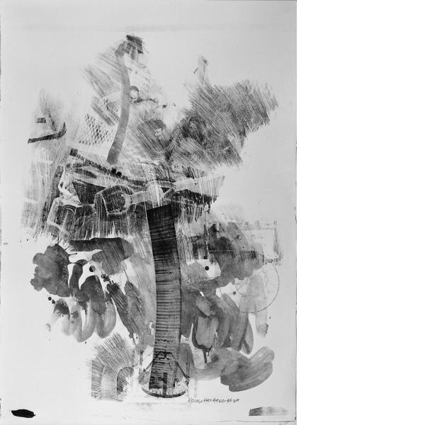 Robert Rauschenberg, Sky Hook, 1969