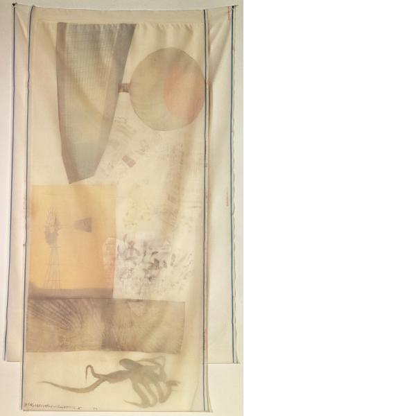 Robert Rauschenberg, Scent, 1974