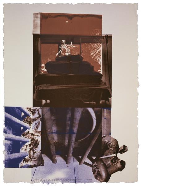 Robert Rauschenberg, Rookery Mounds - Night Tork, 1979