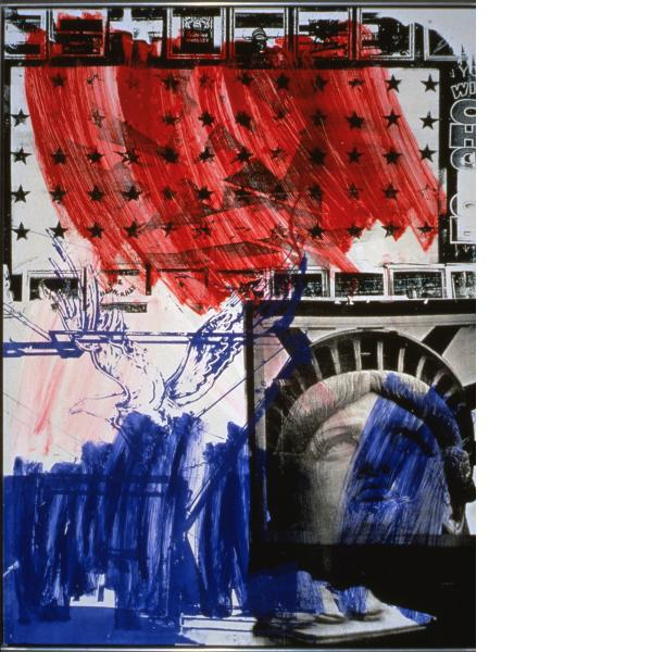 Robert Rauschenberg, People for the American Way, 1991