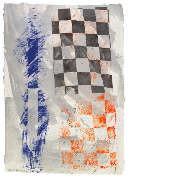 Robert Rauschenberg, Grid Gull, 1993