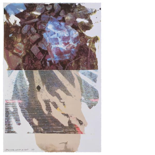 Robert Rauschenberg, Sublime (Speculations), 1996