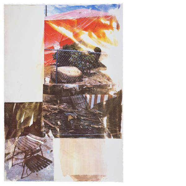 Robert Rauschenberg, Break (Speculations), 1997