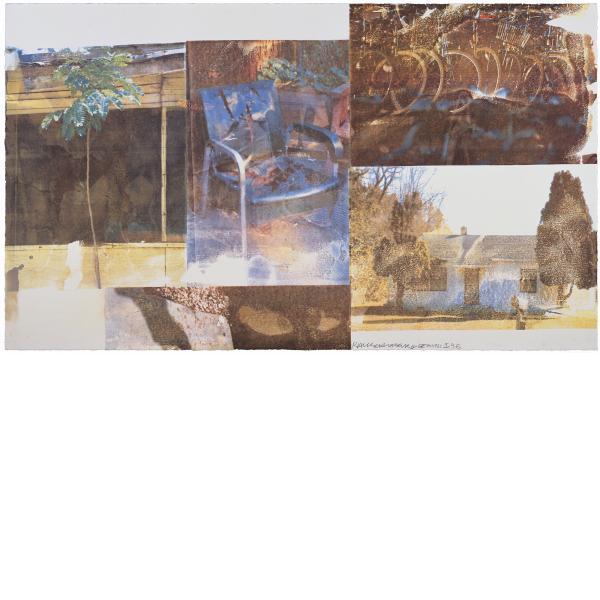 Robert Rauschenberg, Furnished (Speculations), 1996