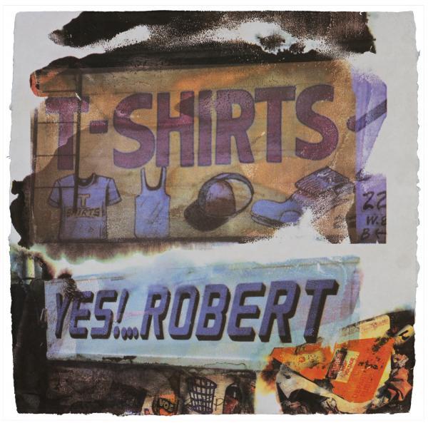 Robert Rauschenberg, L.A. Uncovered #1, 1998