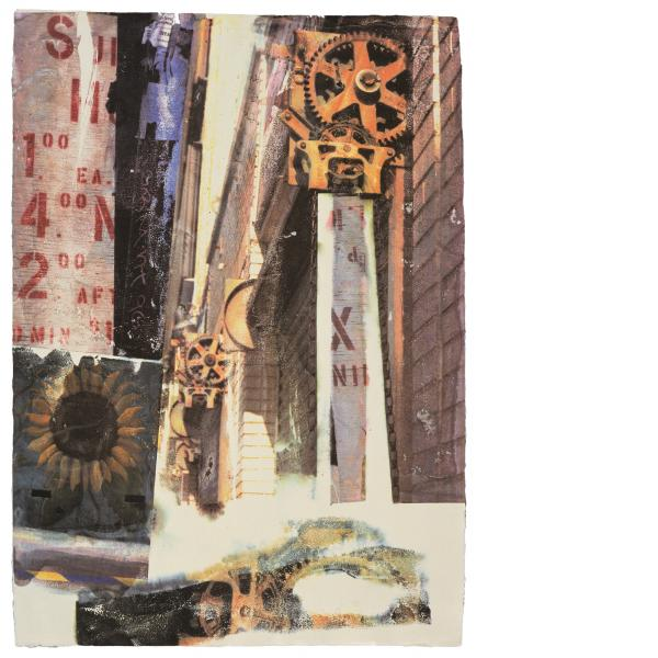 Robert Rauschenberg, L.A. Uncovered #9, 1998