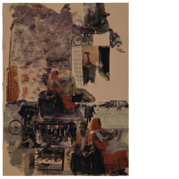 Robert Rauschenberg, Reunion (Marrakitch), 2000