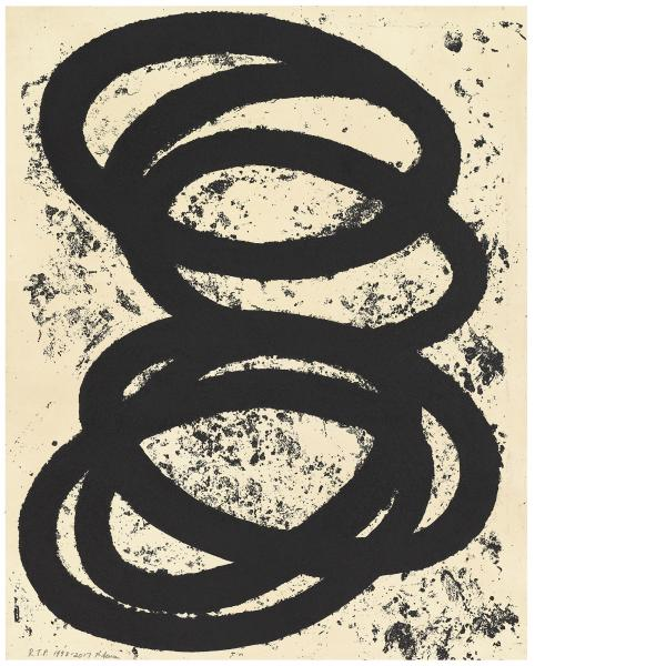 Richard Serra, Finally Finished I, 2017